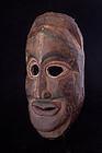 Primitive painted mask, Nepal, Himalaya