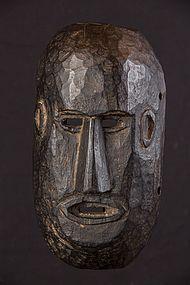 Primitive black mask, Nepal, Himalaya