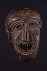 Primitive mask with sharp teeth, Himalaya, Nepal