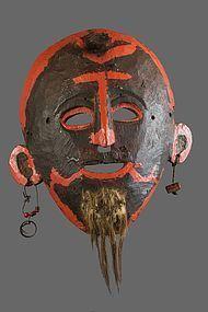 Fine joker mask, Nepal, Himalaya