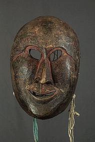 Antique Tibetan mask, Himalaya, Tibet, China