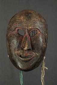 Antique Tibetan mask, Himalaya, Tibet, China