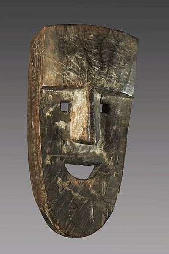 Powerful primitive mask, Nepal, Himalaya