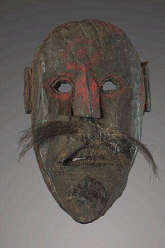 Rough primitive mask, Nepal, Himalaya
