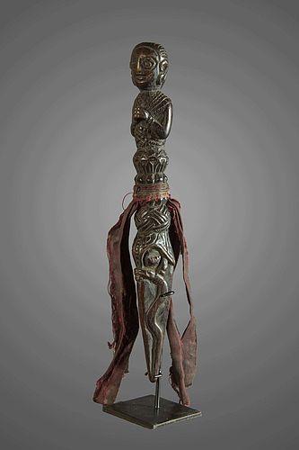 Old shamanic phurba N°76, Himalaya Nepal