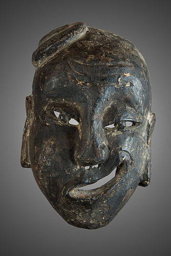 Antique chines Nuo mask Quitong (N°51) China