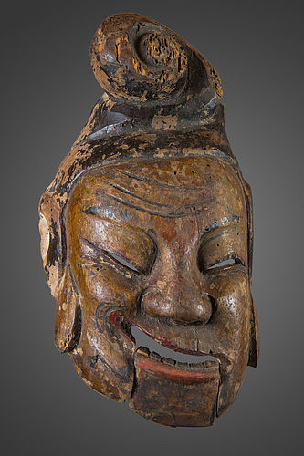 antique chines Nuo mask N°52, China