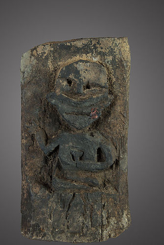 Wooden shamanic board, Himalay, Nepal