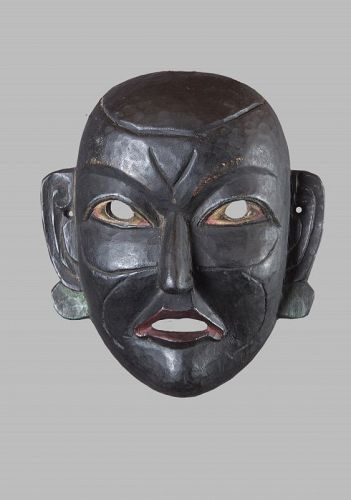 Mompa mask, Himalaya, India, Nepal