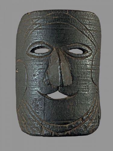 minimal primitive mask, Himalaya, Nepal