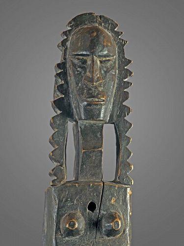 Large door lock from Bambara tribes, Mali, Africa