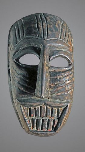 Mask from Himachal Pradesh, India, Himalaya