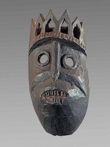 Monkey mask from Himachal Praddesh; Himalaya; India , Nepal