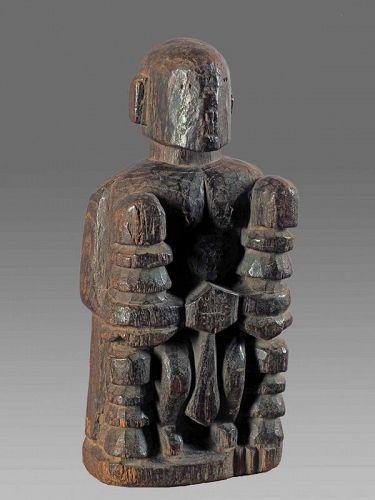 Himalayan primitive figure, Indian votive Figure N°3