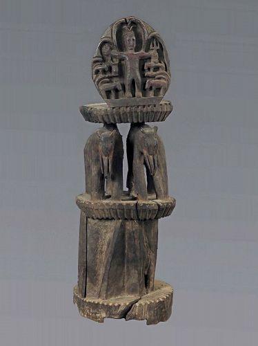 Ritual tribal altar,Himalaya Primitive figure N°74, Himalaya, Nepal