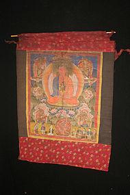 Old Tamang Thanka 1, Nepal, Himalaya