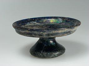 Islamic Glass Pyxis, 900 A.D.