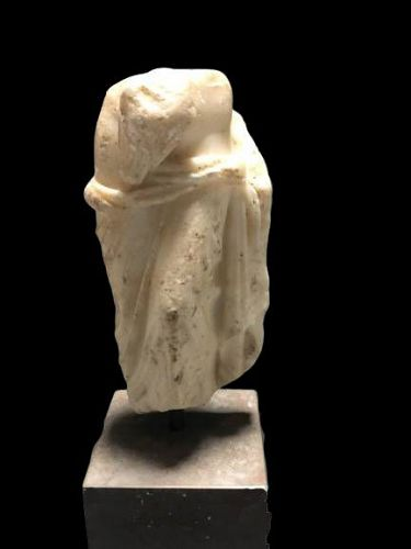 Roman Marble figure of Leda and the Swan, 1st-2nd century AD