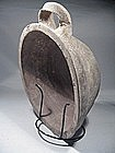 Byzantine terracotta pan with a handle, 600 AD.
