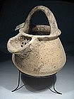 Late Bronze Age �Canaanite� Pottery Jar, 1550 BC.