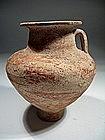 Nabatean Terracotta Carinated Bolw, 200-0 BC.