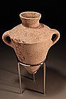 "Late Bronze Age ""Cananite"" Amphora, 1550-1200 BC."