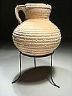 Roman-Herodian Decorated Pitcher, 37 BC- 70 AD.