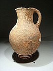 Large Iron Age I Pitcher with a Ring Base, 1000 BC.