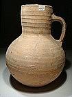 Large Byzantine Terracotta Pitcher, 600 AD.