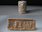 PUBLISHED ANCIENT EGYPTIAN - CANAANITE CYLINDER SEAL