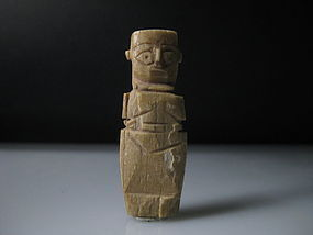 A nice Egyptian Coptic bone doll amulet/good provenance
