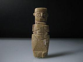 A nice Egyptian Coptic bone doll amulet/good provenance