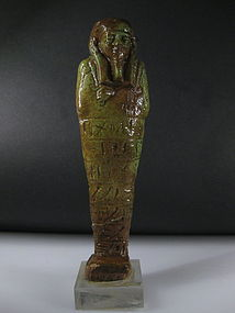 Ancient Egyptian Faience Shabti