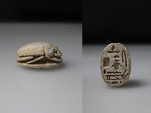 Interesting Ancient Egyptian Scarab
