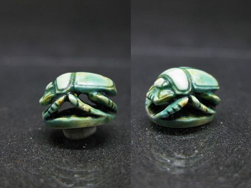 Fantastic Ancient Egyptian Open-Worked Scarab