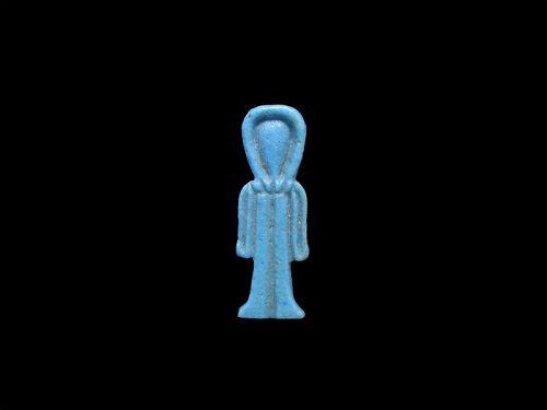Wonderful Ancient Egyptian Faience Isis Knot Amulet