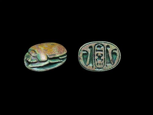 Ancient Egyptian Scarab for Thutmosis IV