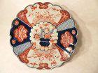 Japanese Scalloped IMARI Plate Antique Procelain Meiji Period