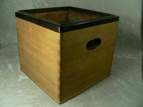 Japanese Traditional Hibachi Box Wood Hand Warmer
