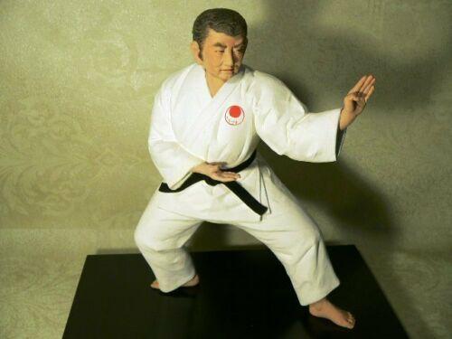Rare Japanese Hakata Doll Art Karate Master by Kenjo Fukuoka City