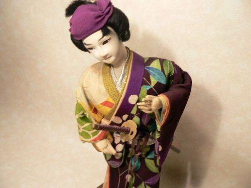 Vintage Doll Samurai Japanese Nishi Doll