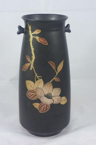 Japanese Kutani Vase Contemporary Flower Vase