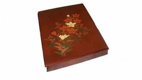 Japanese Ink Box Zusuribako Wood /LetterBox