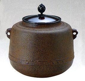 Japanese Zen Tea Ceremony Cast Iron Tea Pot Chagama