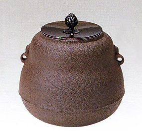 ZEN Japanese Tea Pot Ceremony Hisago Masamitsu Chagama