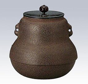 ZEN Japanese Tea Ceremony Hisago Iron Kettle Chagama