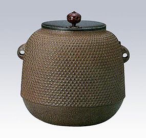 Japanese Zen Tea Ceremony Iron Jujube Kettle Chagama