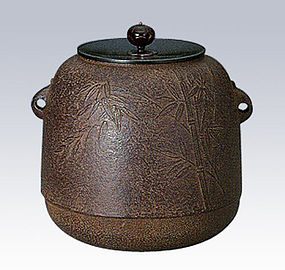ZEN Japanese Tea Ceremony Jujube Bamboo Kettle Chagama