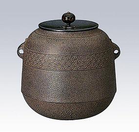 Japanese Zen Tea Ceremony Iron Jujube Cloisonne Chagama