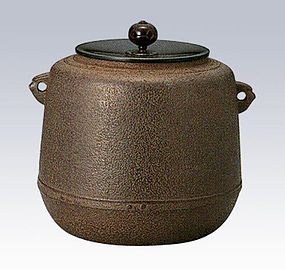 Japanese Zen Tea Ceremony Iron Bandai Kettle Chagama